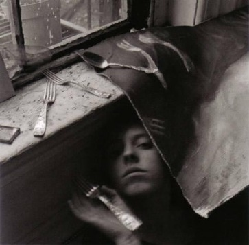 Francesca Woodman: It must be time for lunch now 1979. 25.4cm x 20.3cm