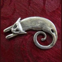 ~Cat Brooch~Liza Paizis