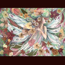 Flora Flower Goddess Painting