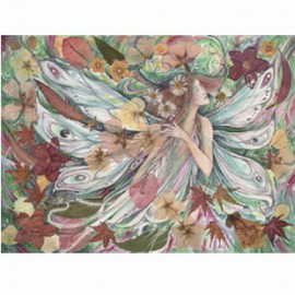 Flora Fairy Flower Goddess Painting