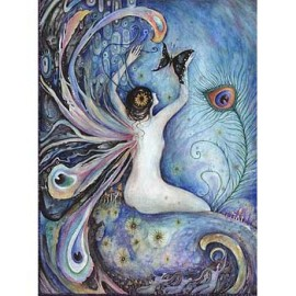 sylph fairy painting art