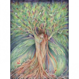 tree lovers fairy art picture