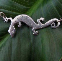lizard necklace 2