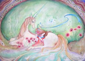 unicorn painting