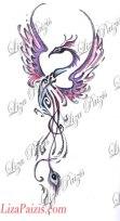 tribal-phoenix-tattoo-design