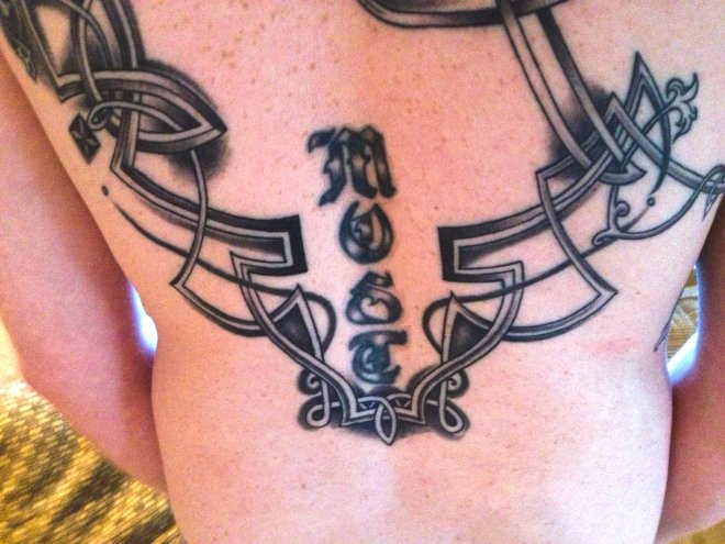 Celtic tattoo extension