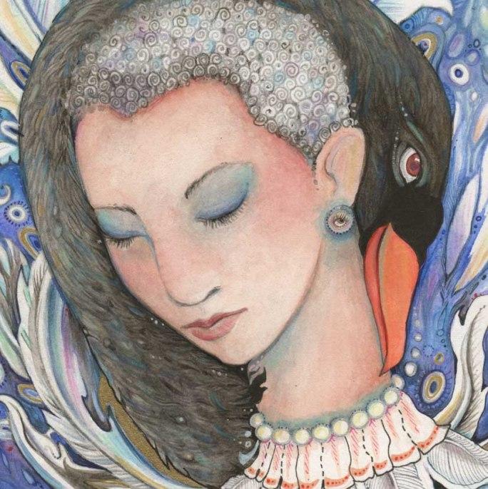 Swan Maiden painting