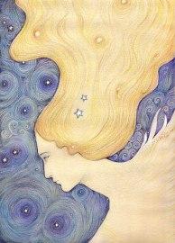 night skye original painting liza paizis