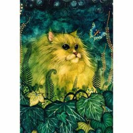 Green Cat picture