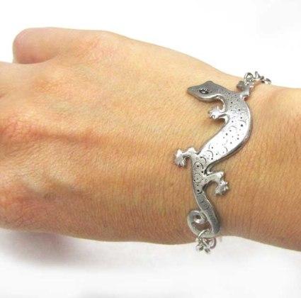 lizard gecko bracelet