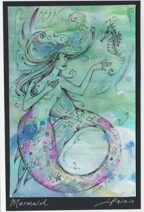 mermaid painting art 2