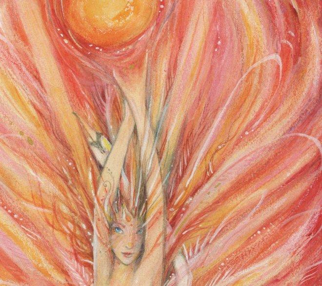 Dawn Goddess art
