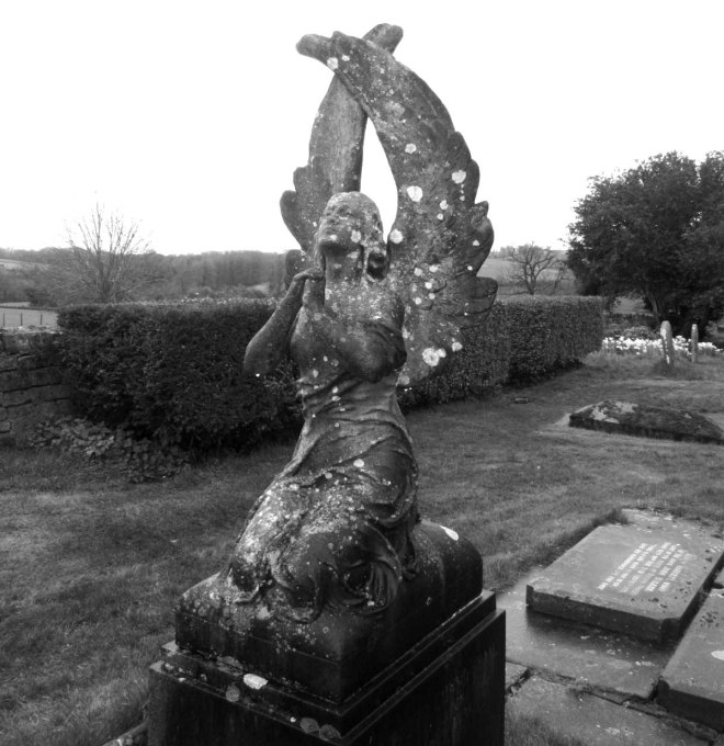 guiting angel graveyard