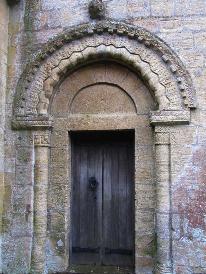 guiting north doorway