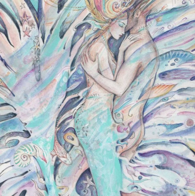 mermaids-d-love-painting
