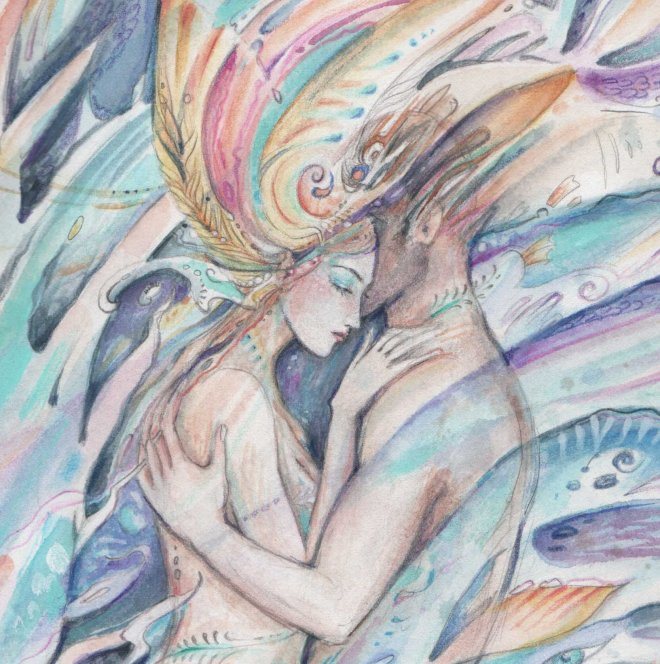 mermaids-dream-love-art
