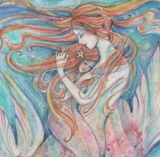 Mother Daughter Art Liza Paizis Original Art And Jewelry Blog