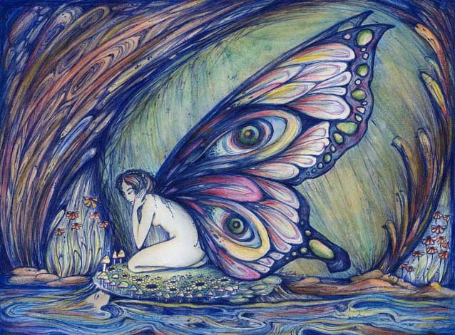 Faerie painting art picture
